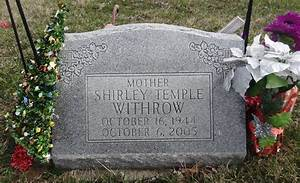 Shirley Temple Withrow (1944 - 2005) - Find A Grave Photos