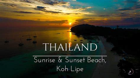 koh lipe beaches sunset sunrise beach thailand vlog
