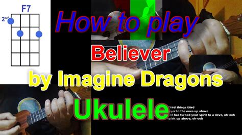 How To Play Believer By Imagine Dragons Ukulele Cover
