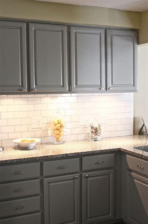 grey subway tile backsplash kitchen home design ideas