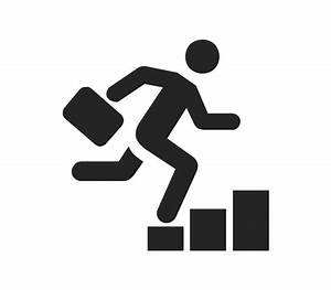 Business People Pictograms Vector Stencils Library