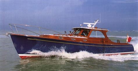 Hinckley Boat Construction by Getting Cold Molded Power Boat Plans Yu