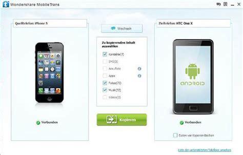 ein einfacher leitfaden um daten vom iphone aufs android
