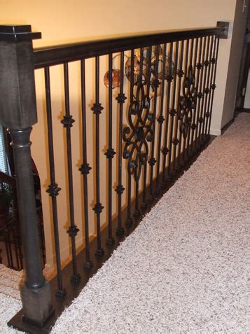 complete stair railing replacement staircase