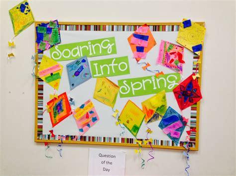 Two Spring Bulletin Boards