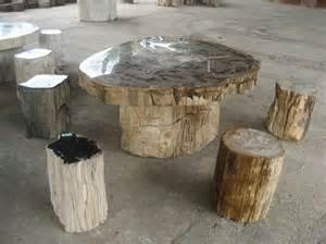 interior design 19 petrified wood table interior designs