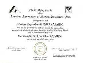 CMA Aama Certified Medical Assistant Certification