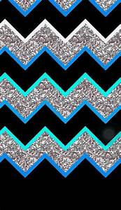 Cool Bacrounds Image Via We Heart It Chevron Glitter Wallpaper Fondo