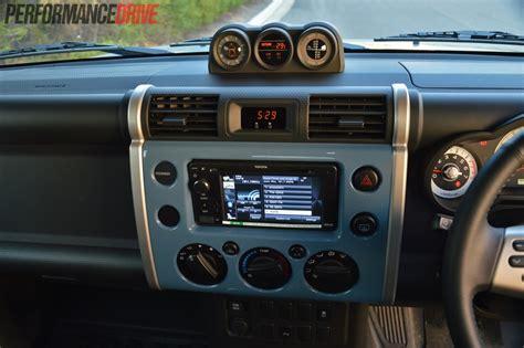 toyota jeep inside 2014 toyota fj cruiser review video performancedrive