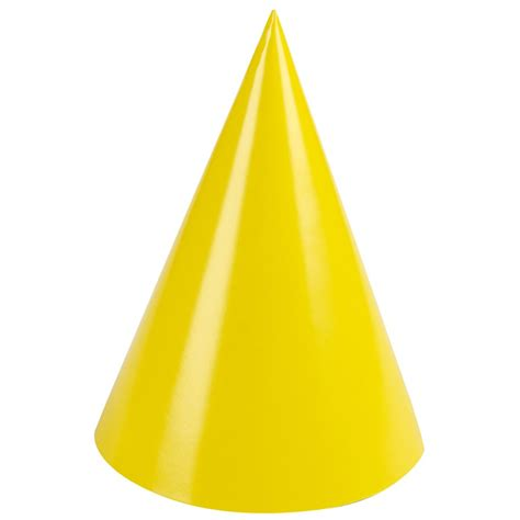 birthday party supplies yellow party hats