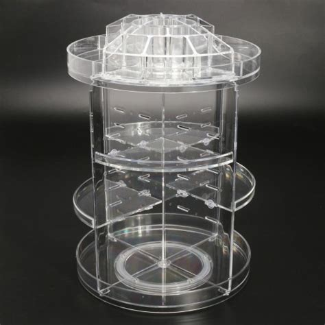 tier acrylic cosmetic makeup jewelry  rotating