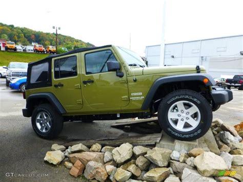 jeep unlimited green commando green 2013 jeep wrangler unlimited sport s 4x4