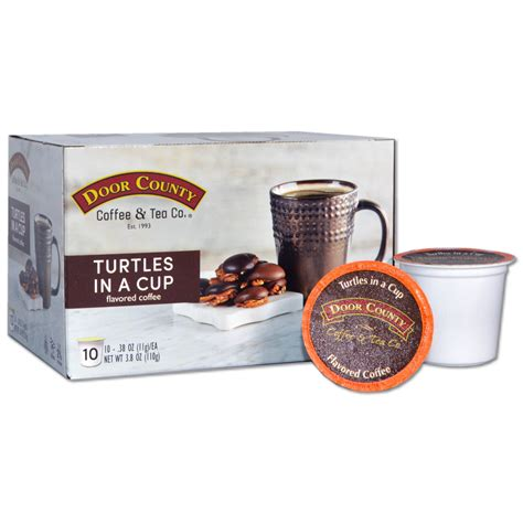 Последние твиты от door county coffee (@dccoffee). Door County Coffee Turtles in a Cup, Chocolate, Caramel and Toasted Pecan Flavored Specialty ...