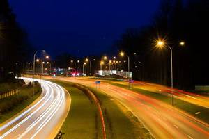 Free Images : road, car, night, highway, tunnel, evening ...