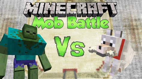 mutant zombie  wolf minecraft mob battles mutant creatures youtube