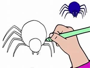 Faire Fuir Les Araignées : apprendre dessiner une araign e ~ Melissatoandfro.com Idées de Décoration
