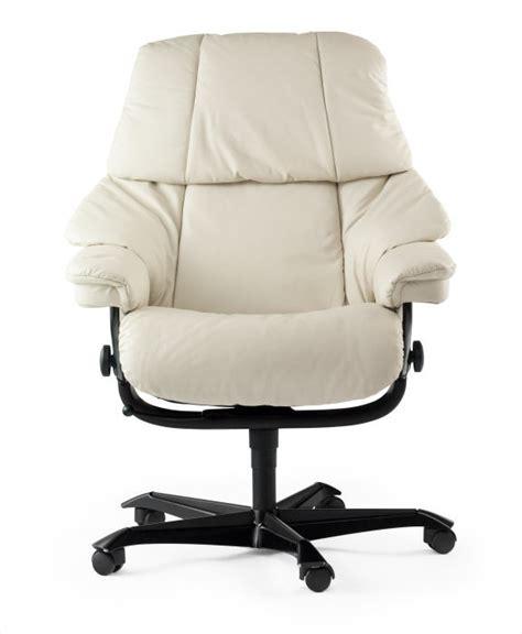fauteuil bureau stressless fauteuil de bureau confortable blanc stressless