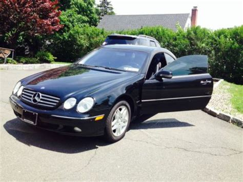 Sell Used 2001 Mercedes-benz Cl500 Coupe 2-door 5.0l In