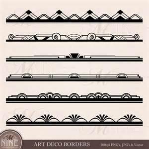 Deco Border Clip Art