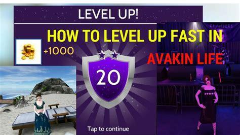 avakin level fast