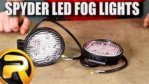 Spyder Fog Light Installation Instructions