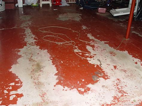 garage floor paint is peeling how to prevent problems when painting concrete floors the paint website