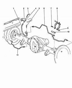 2001 Dodge Ram 1500 Brake Line Diagram
