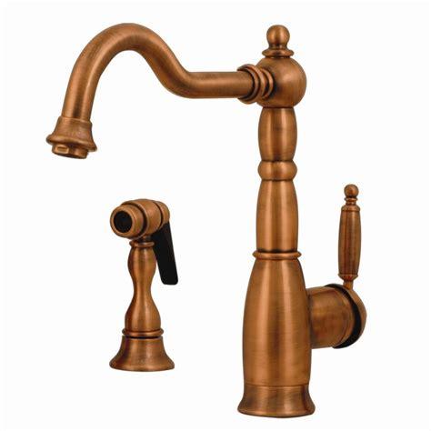 whitehaus kitchen faucets shop whitehaus collection essexhaus antique copper 1