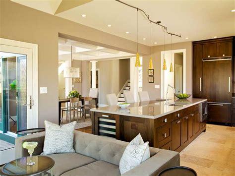 Flooring  Contemporary Open Floor Plans For Modern Home