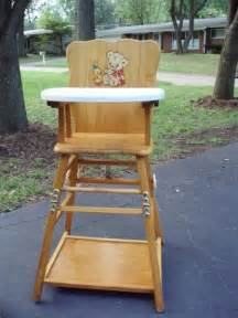 fashioned wooden high chairs for babies best we