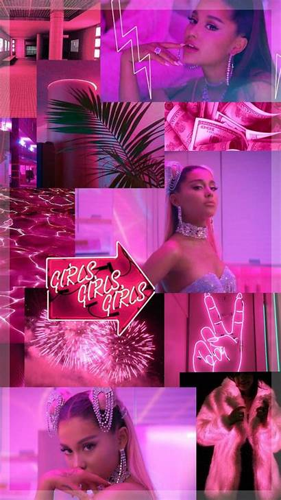 Ariana Grande Rings Background Wallpapers Aesthetic Pink