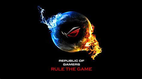 asus republic  game logo hd wallpaper wallpaper gallery