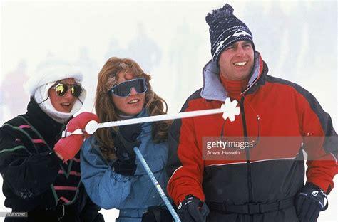 Diana, Princess of Wales enjoys skiing with Sarah, Duchess ...