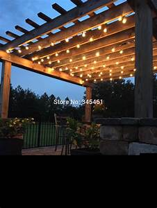 patio globe string lights darcylea design With outdoor string lights no bugs
