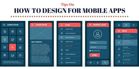 tips  designing beautiful mobile apps