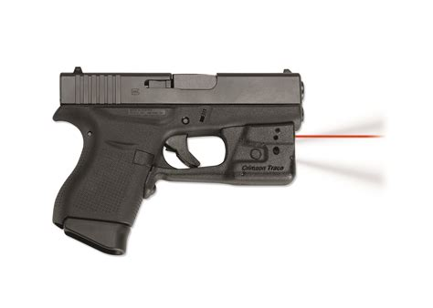 glock tactical laser and light crimson trace laserguard pro red laser sight tactical
