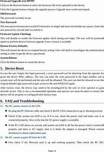 Kz Broand Technologies Am4000d12 Lte Outdoor Cpe User