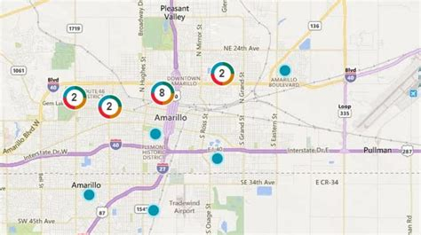 xcel energy power outages affecting parts  downtown
