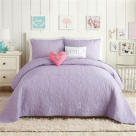 Lavender Coverlet by Buy Playground 5 Quilt Set In