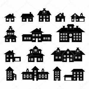 Haus Von Schwarz Und Weiß : haus schwarz und wei stockvektor tzubasaz 20803081 ~ A.2002-acura-tl-radio.info Haus und Dekorationen