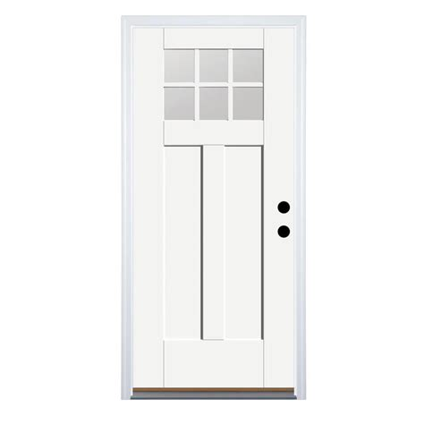 lowes craftsman door benchmark doors therma tru benchmark doors left