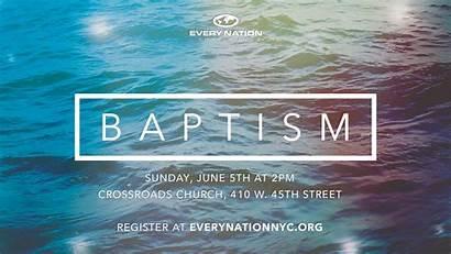 Baptism Sunday Water Baptized June Burial Death