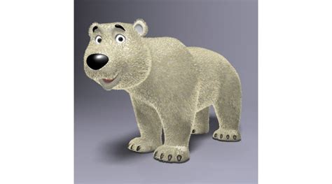 poly   cartoon cartoon bear rigged