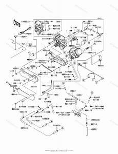 Kawasaki Atv 2005 Oem Parts Diagram For Carburetor