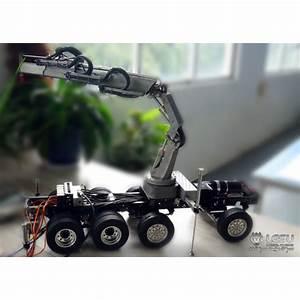 Lesu 1  14 Rc Model Parts Hydraulic Truck Crane W   Control Valve Gear Pump For Dumper