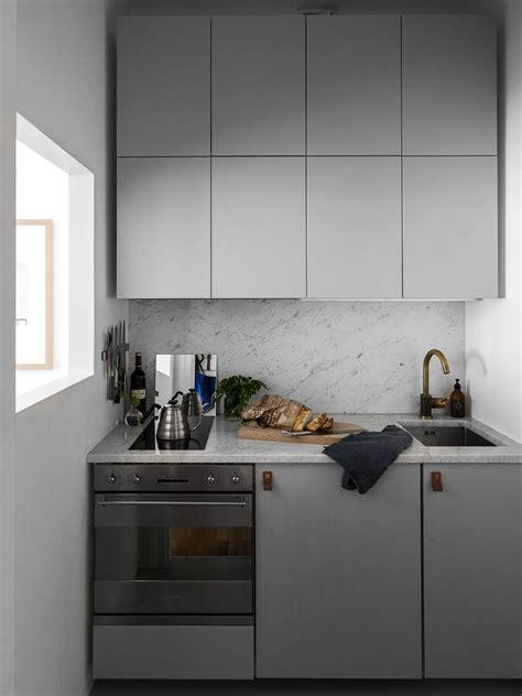 cuisine compacte cuisine compacte et chic en gris clair cuisines