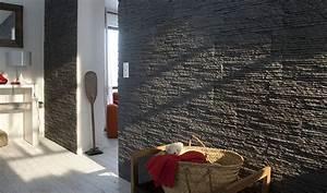 Parement Bois Adhesif : poser du lambris et des pierres de parement facilement ~ Premium-room.com Idées de Décoration