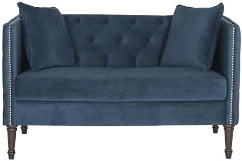 buy settees buy safavieh fox6206d tufted settee with pillows