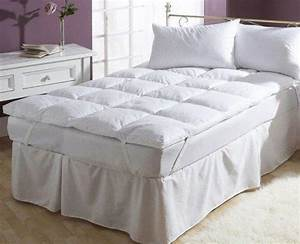 buy down feather mattress topper online in india best With best place to buy mattress topper