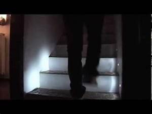 Kit Led Escalier : eclairage led escalier progessif youtube ~ Melissatoandfro.com Idées de Décoration